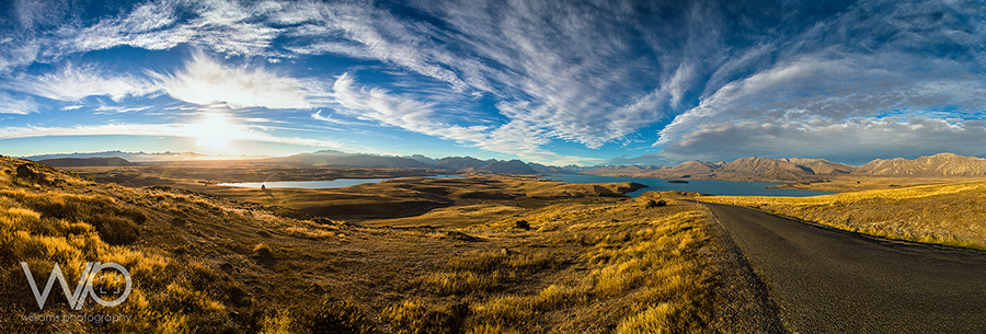 Lake Tekapo Panoramic Mt John